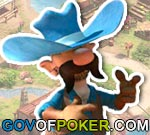 Governor of Poker personnage de cow-boy